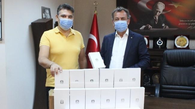Milas'ta tabletler Milli Eğitime teslim edildi