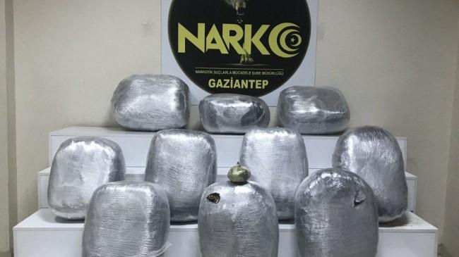 Petrol tankerinde 100 kilo uyuşturucu yakalandı