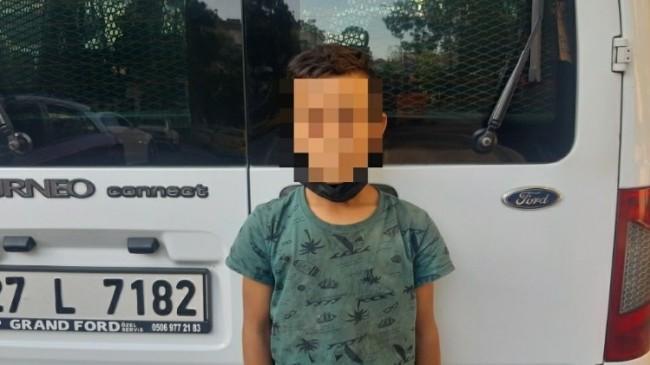 Polisler çocuk dilencileri topladı