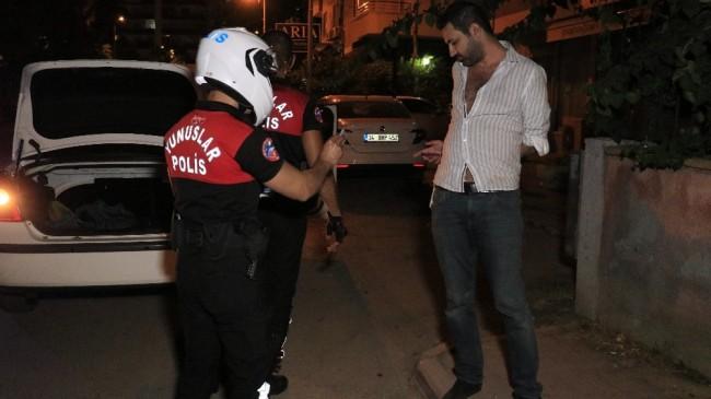 Polisten kaçıp yakalanan sürücü yasal sınırın 3 katı alkollü çıktı