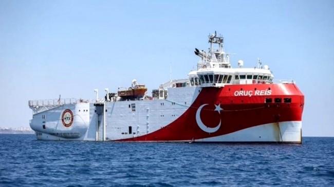 """Bakan Dönmez: """"Oruç Reis araştırma gemimiz de faaliyet göstereceği lokasyona vardı"""""""