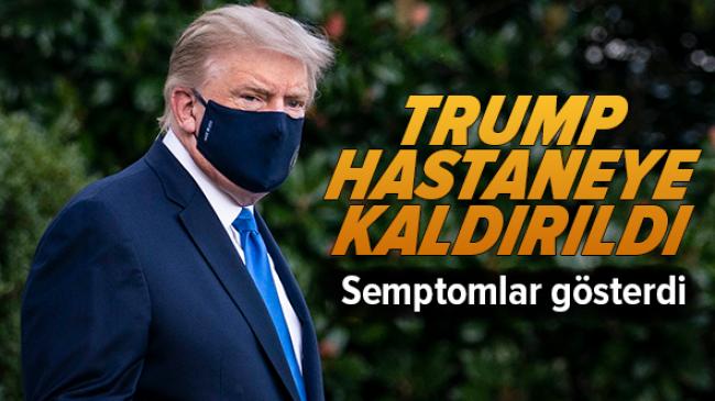 ABD Başkanı Donald Trump Hastaneye kaldırıldı