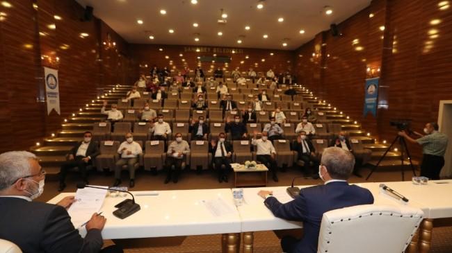 Şahinbey Belediyesi Ekim ayı meclis toplantısı yapıldı