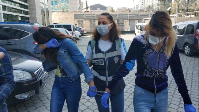 Samsun'da 4 evden hırsızlık yapan kadınlar yakalandı