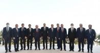 TBMM Başkanı Şentop, Azerbaycan Cumhurbaşkanı Aliyev ile görüştü
