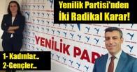 Yenilik Partisi'nden İki Radikal Karar!