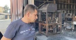 Yerleşim yerlerine de ulaşan yangın, fabrikaları büyük zarara soktu
