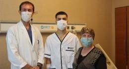 24 yaşında aort anevrizması yüzünden ameliyat oldu, ölümden döndü