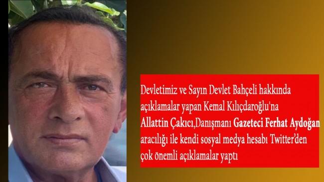 Alaattin Çakıcı'dan Kılıçdaroğlu'na ''Ulan Dürzü''