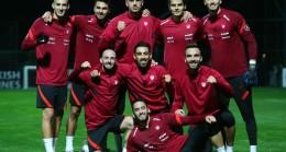A Milli Takım, Rusya maçının hazırlıklarına başladı