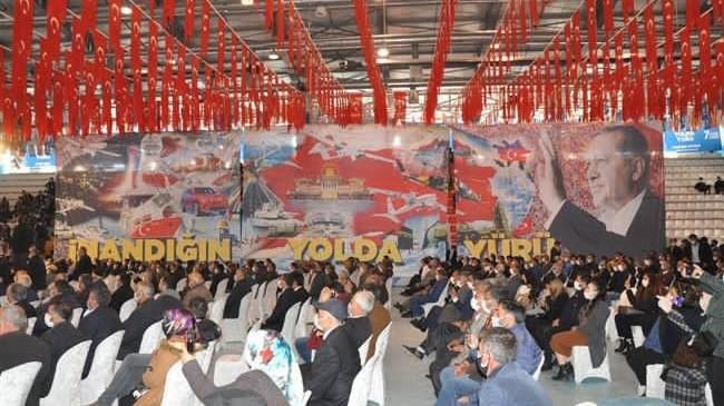 AK Parti Kars 7. Olağan Kongresi'ne hazırlanan koreografi damga vurdu