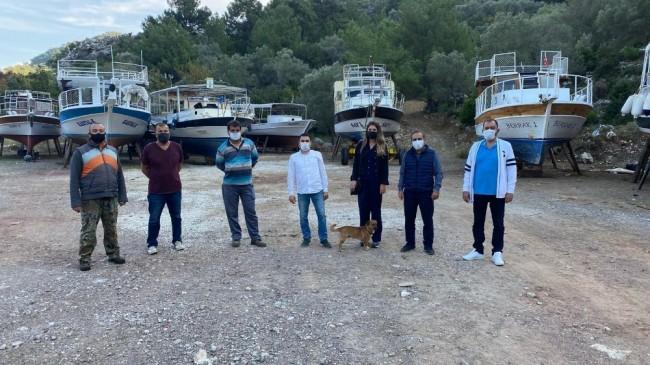 AK Parti Marmaris ilçe yönetimi teknecilere çekek yeri buldu