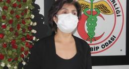 """Aydın Tabip Odası Başkanı Çıbık; """"Covid-19 sağlık çalışanları için meslek hastalığı olarak kabul edilmeli"""""""