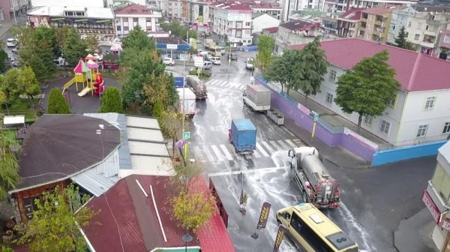 Başakşehir'de dezenfekte çalışmaları