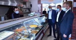 Başkan Ceyhun'dan Simav'da esnaf ziyareti