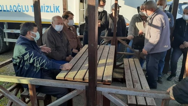 Başkan Şenlikoğlu'ndan balıkçılara barınak müjdesi