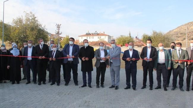 Bayat'ta toplu açılış töreni