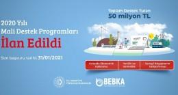 BEBKA'dan 50 milyon lira hibe