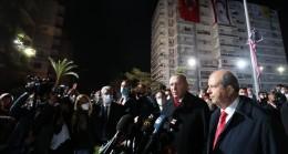 Cumhurbaşkanı Erdoğan, KKTC'de Maraş'ı ziyaret etti