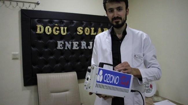 Diş hekimi öğrencisi Covid-19'a karşı jeneratör üretti