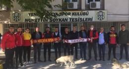Elazığspor'dan Yeni Malatayspor'a destek ziyareti