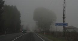 Eskişehir'deki yoğun sis zor anlar yaşattı