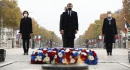 Fransa'da Birinci Dünya Savaşı'nın bitişinin 102. yıl dönümü