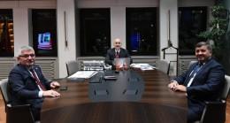Giresun Belediye Başkanı Şenlikoğlu, projeler için Ankara'da