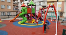 Hamidiye Mahallesi yeni parkına kavuştu