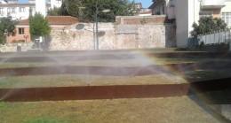 İzmit Belediyesi, parklardaki çeşmelerin kış bakımını gerçekleştirdi