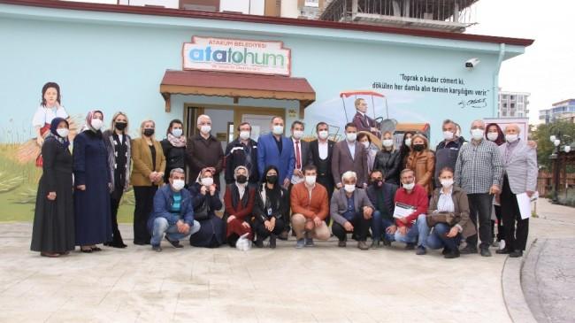 Karadeniz'in ilk tohum bankası AtaTohum'da kışlık üretim sezonu atalık tohum gönüllüleri ile başladı