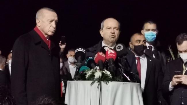"""KKTC Cumhurbaşkanı Tatar: """"Taşınmaz Mal Komisyonu üzerinden Maraş'taki mal ve mülkler mülkiyet sahiplerine iade edilebilecek"""""""