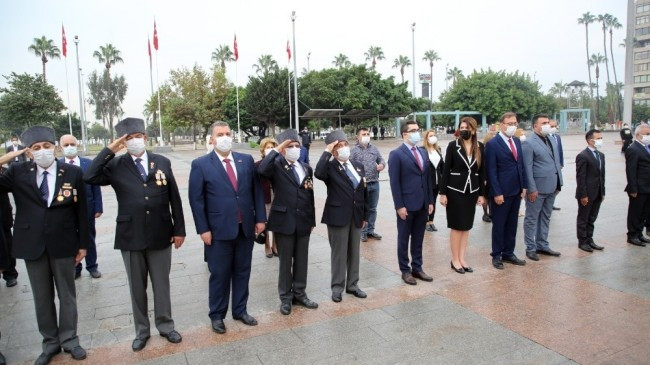 KKTC'nin 37. kuruluş yıl dönümü Mersin'de törenle kutlandı