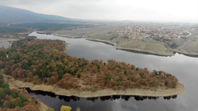 Kütahya'da sonbahar güzelliği