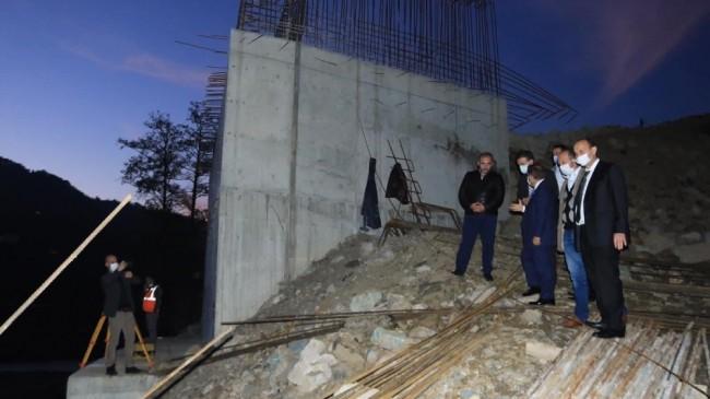 """Milletvekili Öztürk: """"Köprü inşaatı yıl sonuna tamamlanacak"""""""