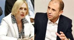 Başbakan Yardımcısı ve Dışişleri Bakanı Kudret Özersay Spehar'la Görüştü