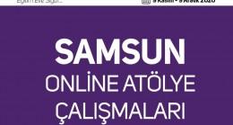 Samsun'da 4 bin 550 öğretmene online atölye çalışması