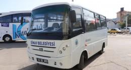 Simav Belediyesi'ne hibe minibüs