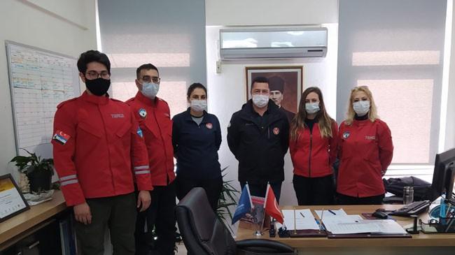 Tamga  Arama Kurtarma İzmir Ekibi olarak İzmir Büyük Şehir Belediyesi Yangın ve Doğal  Afet Eğitim Merkezine teşekkür ziyareti.