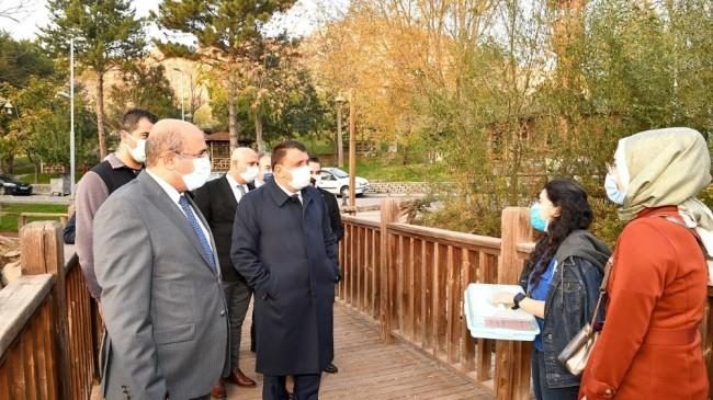 Turgut Özal Tabiat Parkı'ında yenileme çalışmaları başladı