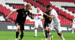 U21 Avrupa Şampiyonası: Türkiye: 0 – Avusturya: 1 (İlk yarı)