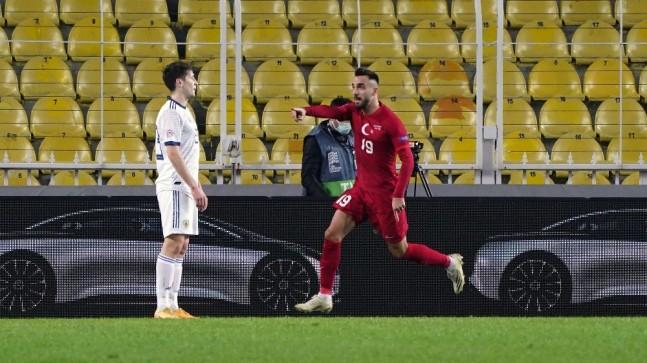 UEFA Uluslar Ligi: Türkiye: 2 – Rusya: 1 (İlk yarı)