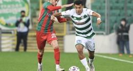 Ziraat Türkiye Kupası: Bursaspor: 0 – Karşıyaka: 0 (İlk yarı sonucu)