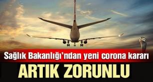 Türkiye'den yeni corona virüsü kararı