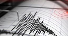 Saat 20:22'de Korkutan Deprem….