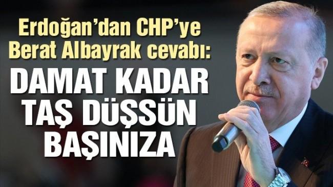 Erdoğan'dan Kılıçdaroğlu'na Berat Albayrak cevabı