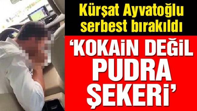 Kürşat Ayvatoğlu serbest bırakıldı