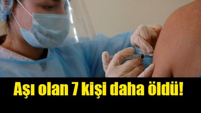 MHRA doğruladı: AstraZeneca aşısı olan 7 kişi öldü