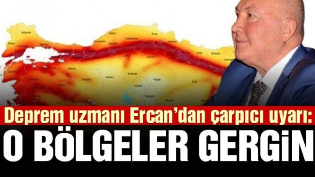 Deprem uzmanı Ahmet Ercan'dan çarpıcı uyarı