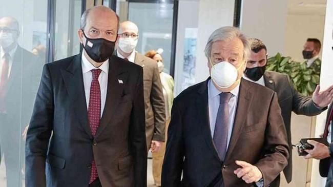 Kıbrıs sorunu! Guterres, Tatar ve Anastasiadis bir araya gelecek…
